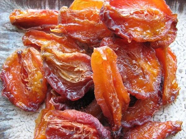 Сушка персиков